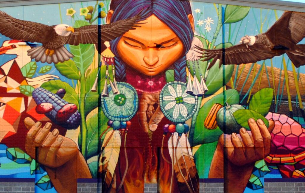 SNGR mural